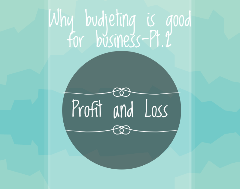 why budgeting is good for business part 2 profit and loss budget